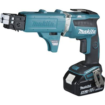 MAKITA VISSEUSE AUTOMATIQUE DFS452TJX2 5AH-18V + 2 BATTERIES + 1 CHARGEUR
