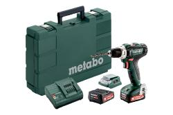 METABO PERCEUSE VISSEUSE SANS FIL POWERMAXX BS12 2AH-12V+ 2 BATTERIES + 1 CHARGEUR - EN COFFRET