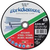WORKDIAMOND DISQUE A TRONCONNER METAL 125X3,2