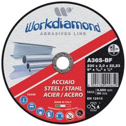 WORKDIAMOND DISQUE A TRONCONNER METAL 115X3,2