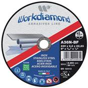 WORKDIAMOND DISQUE A TRONCONNER INOX 125x1,6